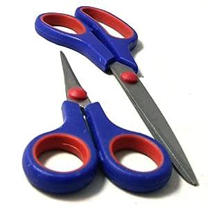 Multipurpose Scissor, Made of Stainless Steel   1 Pack   Prisha India Craft (2 Pieces)