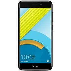 Honor 6C Pro Smartphone portable débloqué 4G (Ecran: 5,2 pouces - 32 Go - Double Nano-SIM - Android) Noir