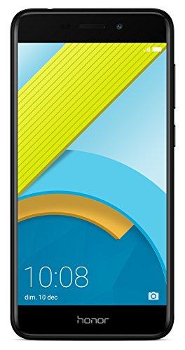 Honor 6C Pro Dual-SIM Smartphone (13,2 cm (5,2 Zoll), 3GB RAM, 32GB speicher, Android, 7.0) schwarz