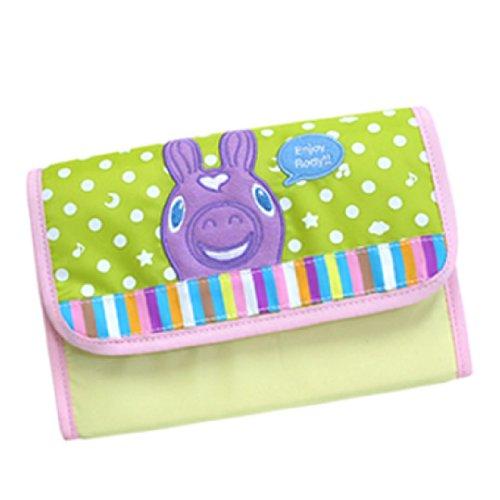 lodi-bellows-maternity-record-book-case-purple-x-lime-green-japan-import