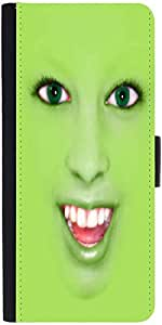 Snoogg Face Camouflage Funny Designer Protective Flip Case Cover For Samsung ...