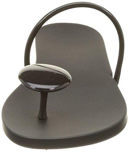 Ipanema Philippe Starck Thing U Ii Fem, Tongs Femme Noir (Black/Black)