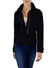 S&LU Elegante Damen-Jacke mit vielen tollen Details Größe 34 - 44