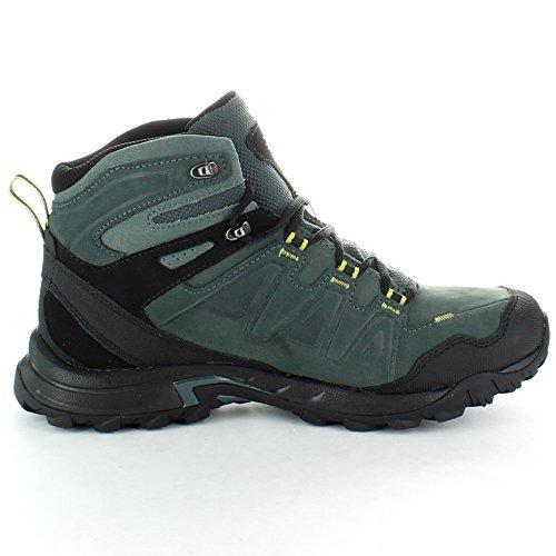 Salomon Mens Eskape GTX Goretex Leather Waterproof Hiking Boots Black Black TT