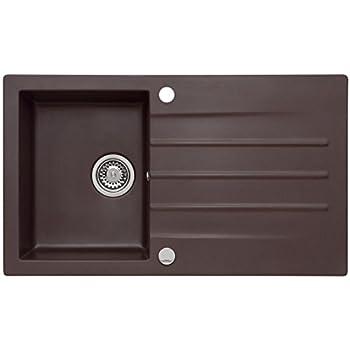 franke strata stg 614 chocolate granit sp le braun k chensp le sp lbecken einbau. Black Bedroom Furniture Sets. Home Design Ideas