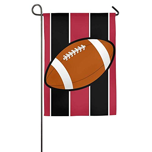 Desing shop Tampa Florida Football Garden Flag Indoor & Outdoor Decorative Flags for Parade Sports Game Family Party Wall Banner 12.5x18 inches