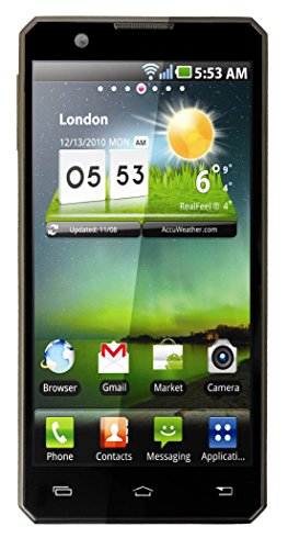 Wham 3G Ultra Slim Sealed Metal Body 4 inch Android Mobile Phone W1 Black Colour