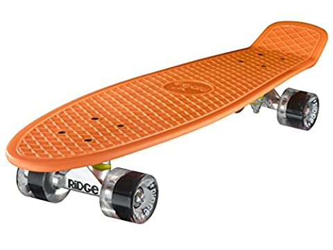 Ridge Skateboards Big Brother Nickel Mini Cruiser Board Skateboard, komplett, 69cm