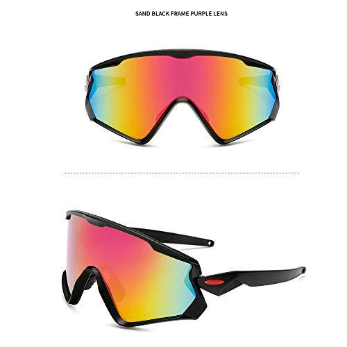 NAN® Sport Sonnenbrillen Outdoor-Männer Und Frauen Polarisierten Sport Sonnenbrillen Jugend Angeln Baseball Bike Laufen Fahren Golf Motorrad Brille,Orange