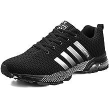 Zapatillas de Deporte Hombres Zapatos de Gimnasia para Caminar de Peso Ligero Zapatillas de Deporte Zapatos