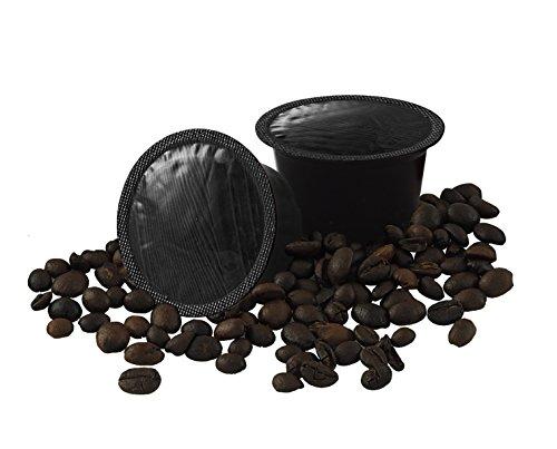 ODC MADE IN ITALY Kit de 100 CÁPSULAS De Cafè Delicado Compatible con las Máquinas de Espresso LAVAZZA BLUE.
