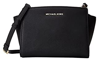 Michael Kors Donna Md Messenger Borsa a spalla, Colore Nero, Taglia unica (B00BSE1RZY) | Amazon price tracker / tracking, Amazon price history charts, Amazon price watches, Amazon price drop alerts