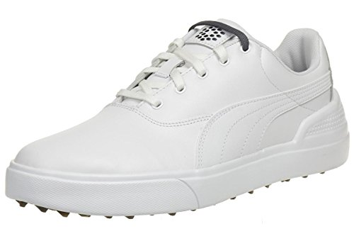 Puma Monolite V2 Men Golfschuhe Golf white leather 188336 04, pointure:eur 40.5