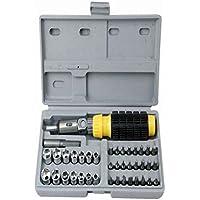 MUANI Reversible Ratchet Schraubendreher Spanner Socket Set Auto-Reparatur-Werkzeug Cr-v Handwerkzeuge Kombination... preisvergleich bei billige-tabletten.eu