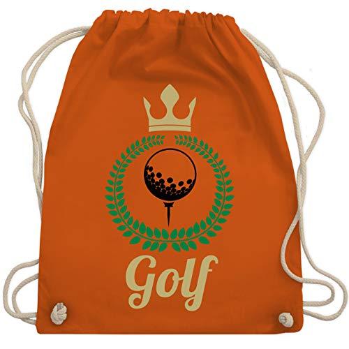 Golf - Lorbeerkanz Krone Golf - Unisize - Orange - WM110 - Turnbeutel & Gym Bag