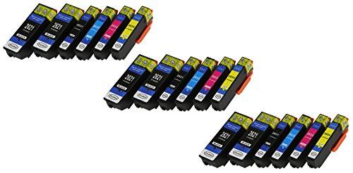 n mit CHIP und Füllstandanzeige für Epson Expression Premium XP-510, XP-520, XP-600, XP-605, XP-610, XP-615, XP-620, XP-625, XP-700, XP-710, XP-720, XP-800, XP-810, XP-820 ()
