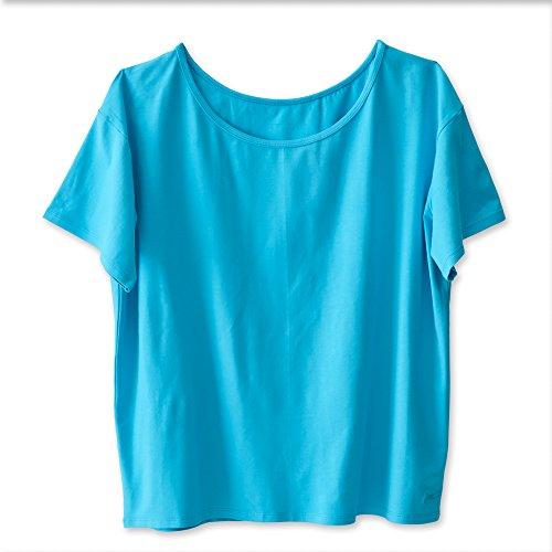 KAVU Islander T-Shirts für Damen, Damen, Sea Breeze, Medium -