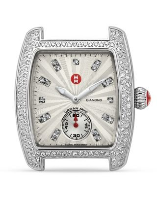 Michele Caber Deco Urban Head, Diamond Case MWW02A000508 Watch