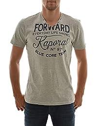 tee shirt kaporal mazz gris