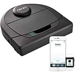 Neato Robotics D402 Connected - Compatible avec Alexa - Robot aspirateur avec station de charge, Wi-Fi & App