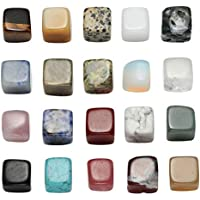 JSDDE Natur Trommelsteine Set 20x verschieden Edelstein Formlos Natural Gemstones Heilsteine getrommelt Stein... preisvergleich bei billige-tabletten.eu