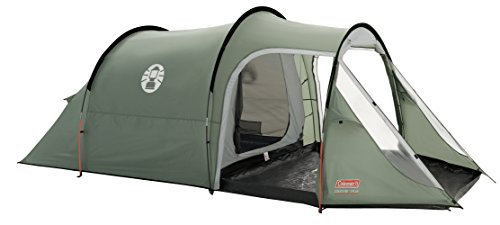 Coleman 3+ Coastline Tent, Green/Grey, 3 Person