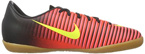 Nike Jr Mercurialx Vapor Xi Ic, Chaussures de Foot Mixte Bébé, Orange/Schwarz/Pink Rouge (Total Crimson/Vlt/Blk/Pnk Blst)
