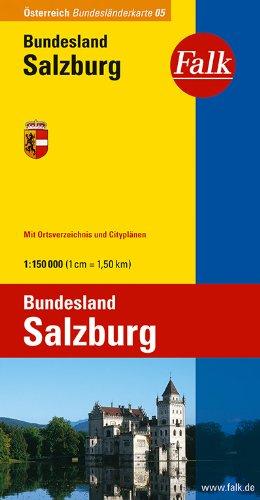 Falk Bundesländerkarte Österreich Salzburg 1:150 000
