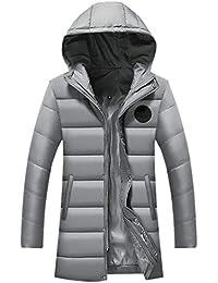 Laisla fashion Herren Winter Freizeit Verdicken Lang Daunenmantel Parka Mit  Kapuze Weich Wärmen Classic Rme Wasserdicht b716d0a136