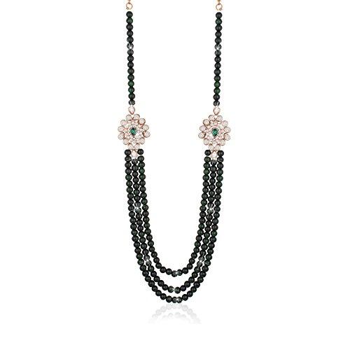 I Jewels Dulha Necklace Groom Moti Mala for Men MLP05G