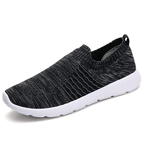 Frauen Wohnungen Turnschuhe Schuhe Slip On Round Toe Casual Loafers Plattform Trainer Schuhe (Lifestride Schuhe Wohnungen)