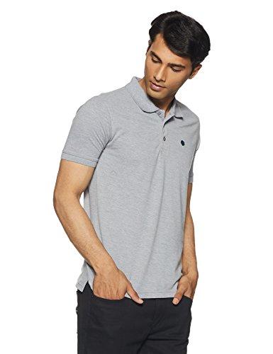 Amazon Brand - Symbol Men's Polo (AW17MPCP3_XL_Mid Grey Melange)