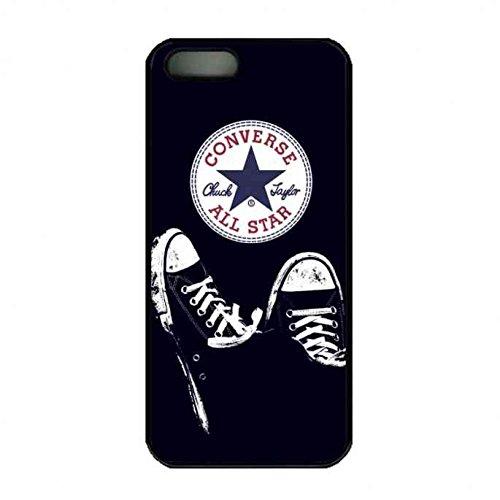 Converse Logo étui de téléphone Pour Apple iPhone SE/5/5S,Chuck Taylor Converse Coque Apple iPhone SE/5/5S,Converse Logo étui de téléphone,Converse Marque Logo Coque Tpu Bumper Coque, coques iphone