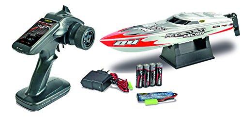 Carson 500108009 - Wasserfahrzeug - RC-Boot Micro Rapscallion 100 % RTR