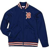 "Detroit Tigers Mitchell & Ness MLB Men's ""Top Prospect"" Full Zip Track Jacket"