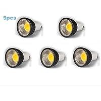 Lampadine spot/Proiettori Par - GU10 - MR16 - 5 W- Dimmerabile - Bianco freddo 350-400 lm- AC 220-240 V- 5 pezzi