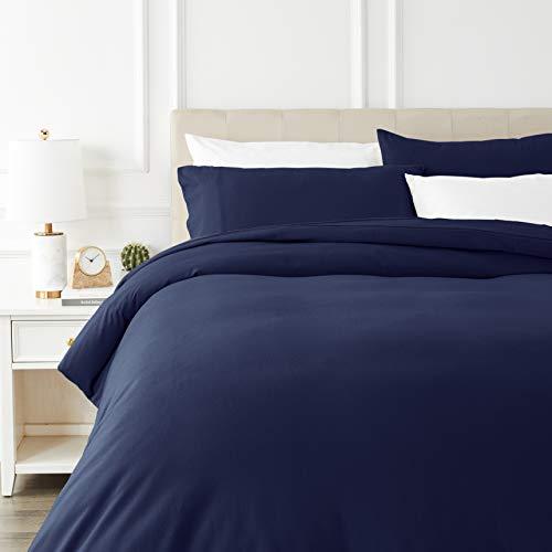 AmazonBasics - Juego cama franela funda nórdica -