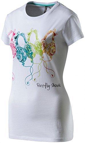Firefly Damen T-Shirt Nora Weiss - L (Firefly Damen-t-shirts)