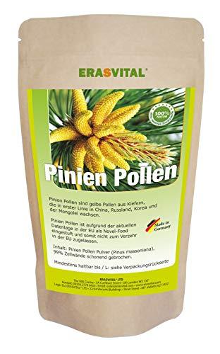 Pine Pollen I Pinien Pollen 1000g Wildsammlung, 99{a987daafbdcbc6c178828d4e0ad34b7aa8081e512148be19793d331aba142641} Zellwandgebrochen, in deutschem Labor auf Schadstoffe geprüft 1000 g