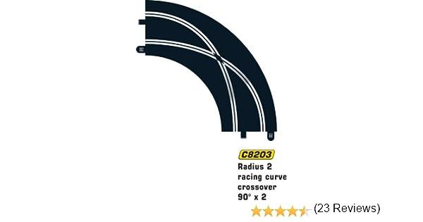 90 degr/és MKD Courbe de d/épassement Circuit voitures