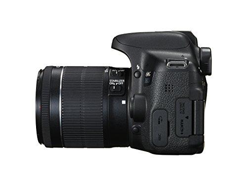 Canon EOS 750D Digital SLR Camera (24.2 MP, 18 – 55 mm Lens, CMOS Sensor) 3-Inch LCD