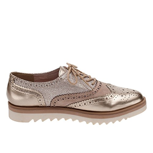 Marco Tozzi 23705, Brogues Femme Or