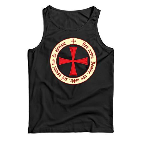 hristliche Ritterorden der Tempelritter, Kreuzritter Kreuz (X-Large Schwarz Mehrfarben) ()