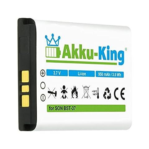 Akku-King Akku für Sony-Ericsson K750i D750i K600i K610i V600i W550i W700i W710i W800i W810i Li-Ion ersetzt