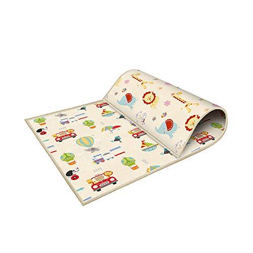 Baby faltbare Spielmatte extra große Schaumstoff-Spielmatte Krabbelmatte wendbar wasserdicht tragbar doppelseitig Kinder Baby Kleinkind Outdoor oder Indoor Verwendung ungiftig (Outdoor-baby-dekor)