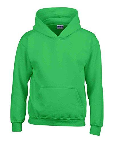 Ages 1-15 Boys Girls Plain Fleece Hoodie Unisex Childrens Hooded Sweatshirt Pullover Hoody 30+ Colours