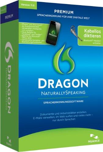 Dragon NaturallySpeaking Premium 11.5 Wireless