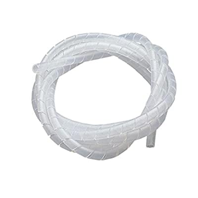 Invento INVENTO_ 6mm Spiral Wrap 3Mtr Long Wire Management for CNC or Robotics or 3D Printer