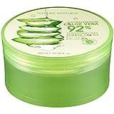Nature Republic New Soothing Moisture Aloe Vera Gel 92 Percent Korean Cosmetics, 10.56 Fluid Ounce