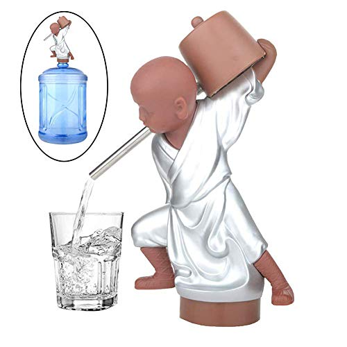 DIMOWANNGG Wasserspender Wasserflasche Pump-Spender Wasserpumpe -USB-Aufladung Tragbarer elektrischer Lade